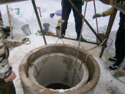 Ремонт и углубление колодцев в Лотошинском районе
